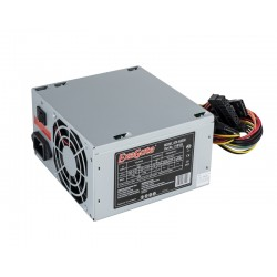 Блок питания 500w Exegate AB500 (ATX, black, 80mm fan, 24+4pin,3SATA,2IDE,1FDD)