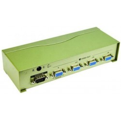 Разветвитель VGA 1 ПК-4 монитора VCOM VDS8016