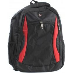 """Рюкзак для ноутбука 15.6"""" Envy Street черный с красным (31120)"""