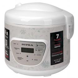 Мультиварка Supra MCS-4704 White (900Вт,4л,7 программ)
