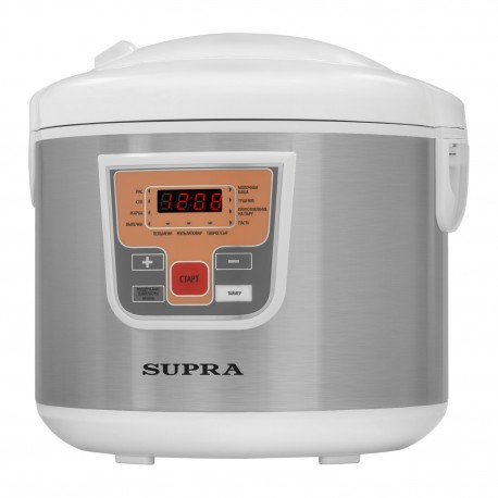 Мультиварка Supra MCS-5110 White 900Вт, 5л, 10 программ