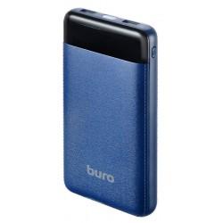 Аккумулятор внешний 21000 mAh Buro RC-21000-DB 2xUSB 2.1A+2.1A темно-синий