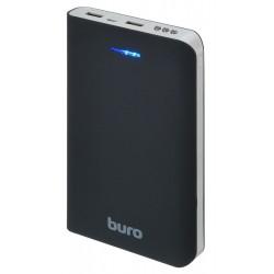 Аккумулятор внешний 30000 mAh Buro RA-30000 2xUSB 3A+3A черный/серый