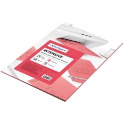 Бумага цветная А4 50л. OfficeSpace intensive 80г/м2, (розовый) 219288