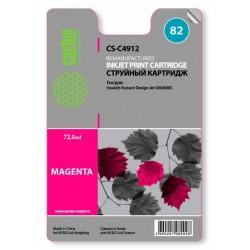 Картридж струйный CACTUS CS-C4912 №82 для HP Design Jet 500/800C magenta