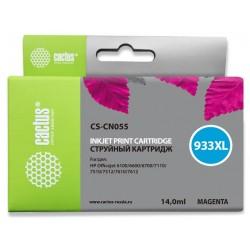 Картридж струйный Cactus CS-CN055 №933 для HP DJ 6600 Magenta