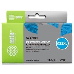 Картридж струйный Cactus CS-CN054 №933XL для HP DJ 6600 Cyan