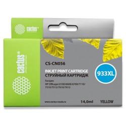 Картридж струйный Cactus CS-CN056 №933XL для HP DJ 6600 Yellow