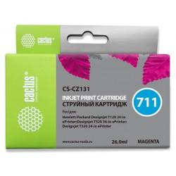 Картридж струйный Cactus CS-CZ131 (№711) для HP DJ T120/T520 Magenta