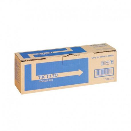 Картридж лазерный Kyocera TK-1130 для FS-1030MFP/1130MFP/M2030dn/M2530dn черный (3000 стр)