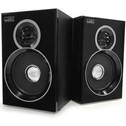 Актив.колонки 2.0 CBR CMS-660 6Вт, Bluetooth, питание от USB, MDF, Black