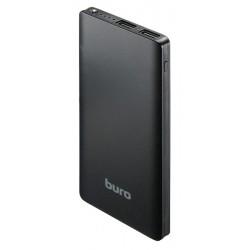 Аккумулятор внешний  8000 mAh Buro RCL-8000-BK черный 2xUSB 2.1A