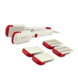 Выпрямитель для волос Galaxy GL 4515 White 40Вт, алюминиевое покрытие, 1 режим, сменные насадки