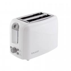 Тостер Galaxy GL 2905 White 800Вт, механическое управление