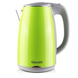 Чайник Galaxy GL 0307 Green (2000Вт,1.7л,сталь/пластик,закрытая спираль)