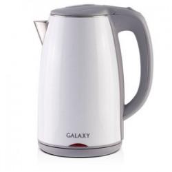 Чайник Galaxy GL 0307 White (2000Вт,1.7л,сталь/пластик,закрытая спираль)
