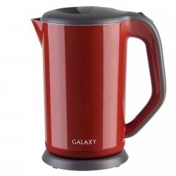 Чайник Galaxy GL 0318 Red (2000Вт,1.7л,сталь/пластик,закрытая спираль)