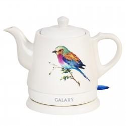 Чайник Galaxy GL 0501 White (1400Вт,1л,керамика,закрытая спираль)