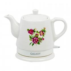 Чайник Galaxy GL 0502 White (1400Вт,1л,керамика,закрытая спираль)