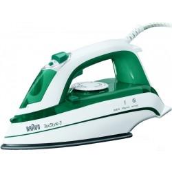 Утюг Braun TS 345 Green/White (2000Вт,300мл,паровой удар 100г/мин,керамика)