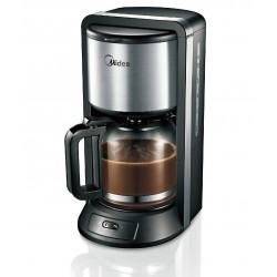 Кофеварка Midea CFM-1500 Black (1000Вт,1.25л,капельная,тип кофе: молотый)