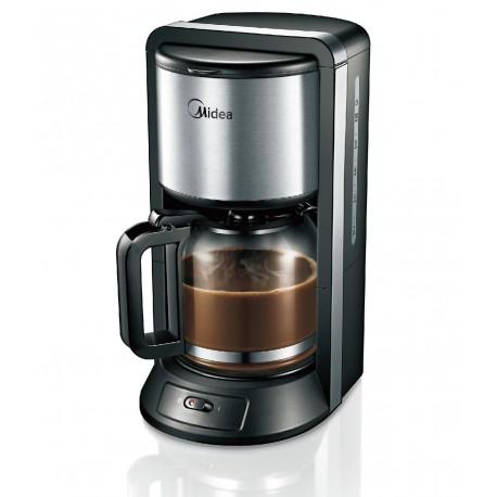 Кофеварка Midea CFM-1500 Black 1000Вт, 1.25л, капельная, тип кофе: молотый
