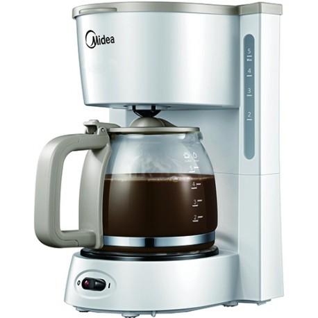 Кофеварка Midea CFM-1501 White 650Вт, 0.8л, капельная, тип кофе: молотый