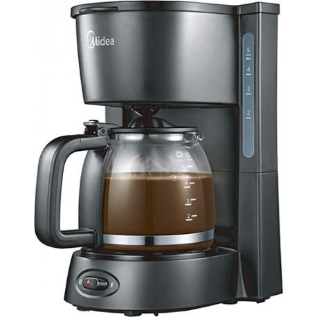 Кофеварка Midea CFM-1502 Black 650Вт, 0.8л, капельная, тип кофе: молотый