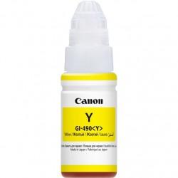 Контейнер с чернилами CANON GI-490 Y для PIXMA G1400/G2400/G3400 Yellow (0666C001)