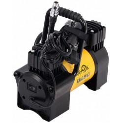 Компрессор автомобильный Качок К90X2C 57л/мин шланг 5.5м, вр. работы до 30 мин.