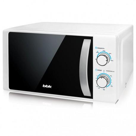 Микроволновая печь BBK 20MWS-711M/WS White/silver 700Вт, 20л, механ-е упр.