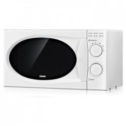 Микроволновая печь BBK 20MWS-803M/W White (700Вт,20л,механ-е упр.)