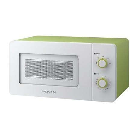 Микроволновая печь Daewoo KOR-5A17 Green (500Вт,15л,механ-е упр.)