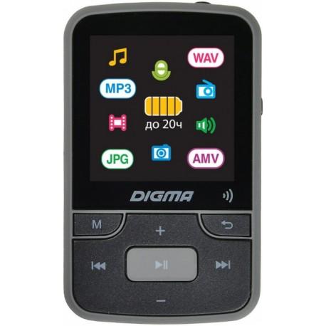 "Плеер-MP3 Digma Z4 16Gb Черный 1.5"",FM,GIF,JPG,BMP,MP3,WAV,AVI,MicroSD_Slot,Bt,диктофон"