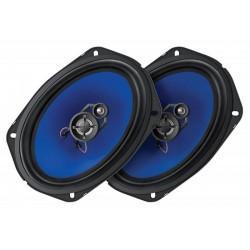 Колонки автомобильные 15x23см Digma DCA-K693 100/280Вт, 100-20000Гц, 4Ом, 90дБ, коаксиальная АС