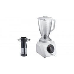 Блендер стационарный Bosch MMB21P1W White 500Вт, мерный стакан