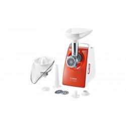 Мясорубка Bosch MFW3630I White/orange (1600Вт,1 насадка,3 решетки)