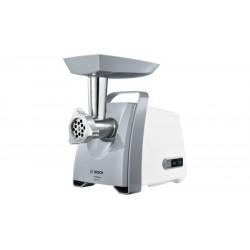 Мясорубка Bosch MFW45020 White/Grey (1600Вт,2 насадки,1 решетка)
