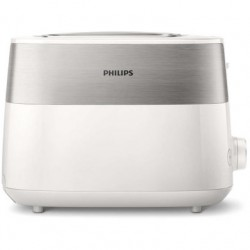 Тостер Philips HD2515 White 830Вт, механическое управление