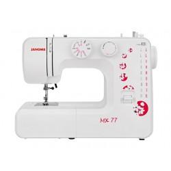 Швейная машина Janome MX 77 (электромеханическое управ.,реверс,15 операции,свет)