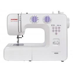 Швейная машина Janome VS 50 (электромеханическое управ.,реверс,15 операций,свет)