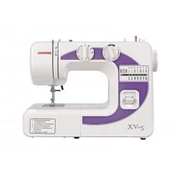 Швейная машина Janome XV-5 (электромеханическое управ.,реверс,14 операций,свет)