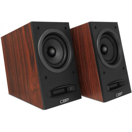Актив.колонки 2.0 CBR CMS-590 10Вт, питание от USB, MDF, Wood
