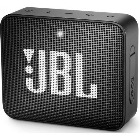 Портативная колонка JBL Go 2 3Вт, Bluetooth, степень защиты IPX7, AUX вход, Черный