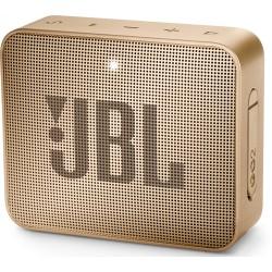 Портативная акустика JBL Go 2 3Вт, Bluetooth, степень защиты IPX7, AUX вход, Champagne