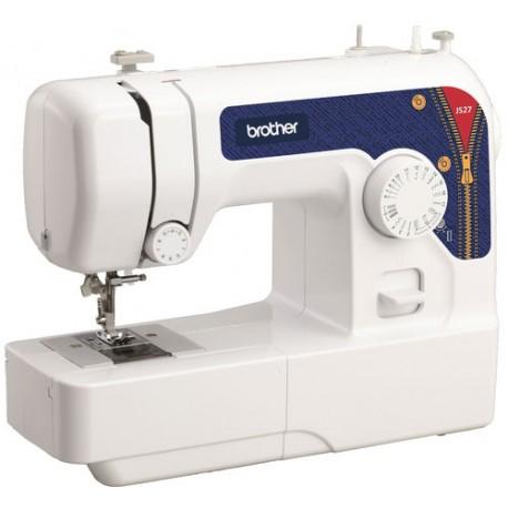 Швейная машина Brother JS27 электромеханическое управ., реверс, 14 операций, свет