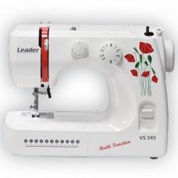 Швейная машина Leader VS 345 (электромеханическое управ.,реверс,13 операции,свет)
