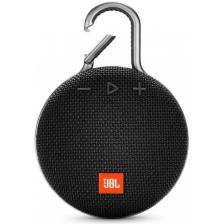 Портативная акустика JBL CLIP 3 (JBLCLIP3BLK) Bluetooth, питание от аккумулятора, Black