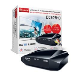 Цифровая приставка DVB-T2 D-Color DC705HD HDMI 1080p/RCA/TimeShift/ТВгид/запись