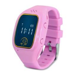 "Смарт-часы Ginzzu GZ-511 Pink 0.66""/IP55/And4.4,iOS7/GPS/WiFi"